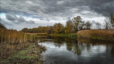 *** Осень пейзаж природа река