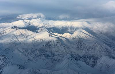 Морозное утро в Саянах природа