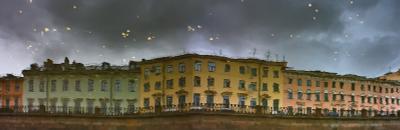 осенне-лирическая Санкт-Петербург город