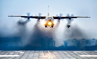 Могучий Ан-12ПС