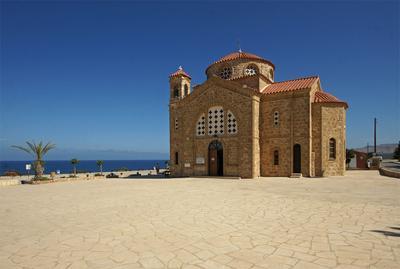 *** Кипр Пафос церкви