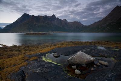 Lofoten night #2 Норвегия Лофотены