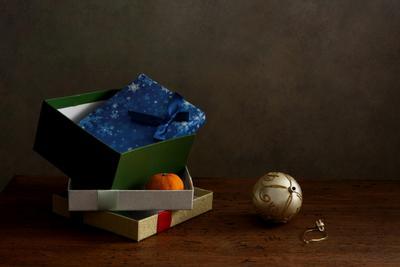 5 января Новый год подарочные коробки шар