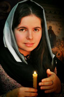 Мария... Украина, православная, хор, регент, портрет