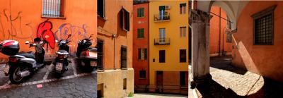Теплая палитра Болоньи