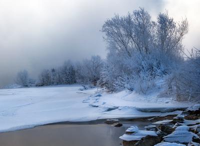 """""""Инея серебряные пряди"""" зима декабрь"""