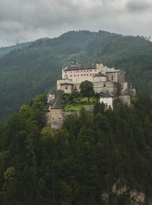 Вечный страж пейзаж, замок