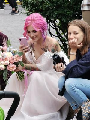 Невеста... однако