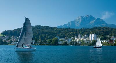 Bei dem winde segeln (3) Switzerland Lucerne