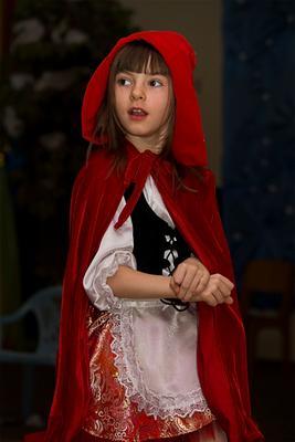 Красная шапочка Новый год Красная шапочка