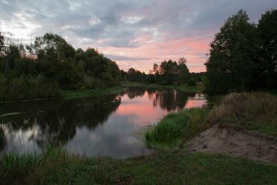 рассвет на реке природа пейзаж рассвет утро осень лето река вода небо