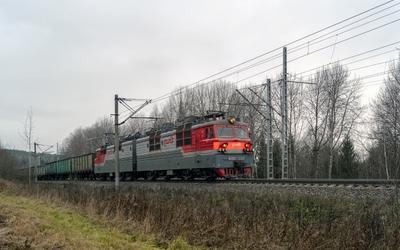 ВЛ80С-2017 ВЛ80С-2017 галич красильниково перегон сев сжд жд транссиб техника транспорт поезд