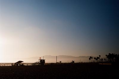 Спасатели Малибу пляж закат Америка
