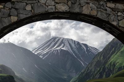 *** Грузия гора Казбеги горы