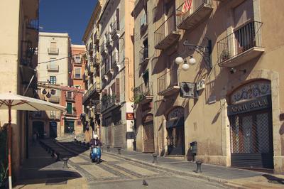 Дыханье осени в старом городе Tarragona