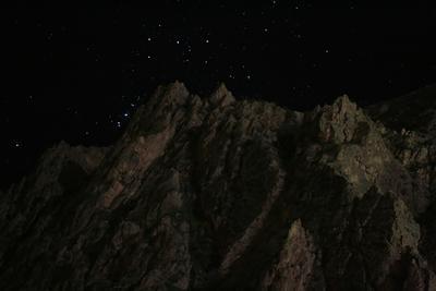 Планета Земля Ночь, горы