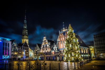 В преддверии Рождества рига латвия новый год рождество 2016 владимир королев funnyking