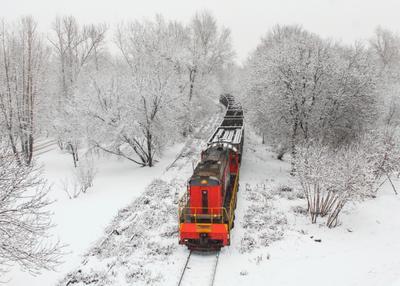Пробираясь сквозь зиму ЧМЭ3