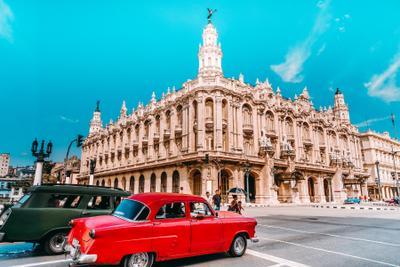 Гавана. На улице Гавана Куба