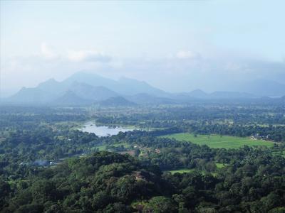 Удивительная Шри-Ланка горы пейзаж Шри-Ланка