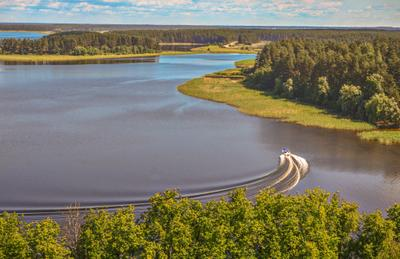 Озеро Селигер пейзаж nevant60 вечер природа