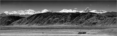 Панорама на пик Хан-Тенгри
