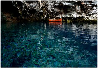 В гостях у нимф Кефалония Мелиссани подземное озеро