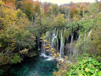 Осенняя симфония Хорватии - вид 3 Хорватия Национальный парк Плитвицкие Озера осень