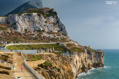 Гибралтар безмятежность гибралтар отдых отпуск променад релакс скалы солнце