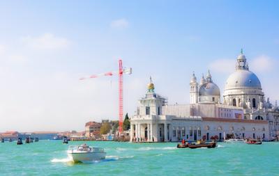 Где-то в Адриатическом море путешествия, адриатическое море, город, европа, венеция, италия, кран
