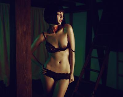 sin city азиатская комната, фотографю из тюмени, девушка с татуировкой