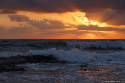 Вечерком.. (v4.1) закат, море