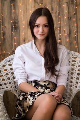 Катерина портрет девушка студия