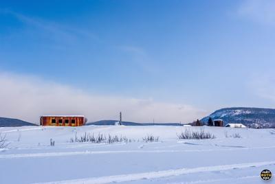 *** Орлинга деревня зимние фото
