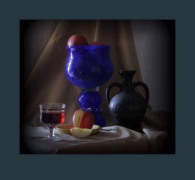 Натюрморт с синей вазой натюрморт жанр фотография композиция свет