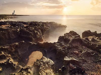 Карибский восход Мексика восход море