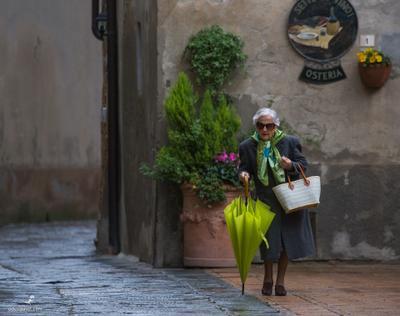 №107. Бабушка. Тоскана. Италия. Бабушка Тоскана Италия путешествия фотограф фото пейзаж приключения