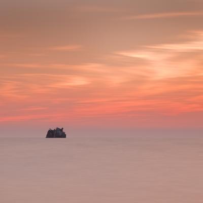 На радость ветру и волнам затонувший корабль Тарханкут Крым закат longexposure nd1000