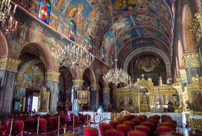 Храм Святого Дионисия храм дионисия закинтос греция
