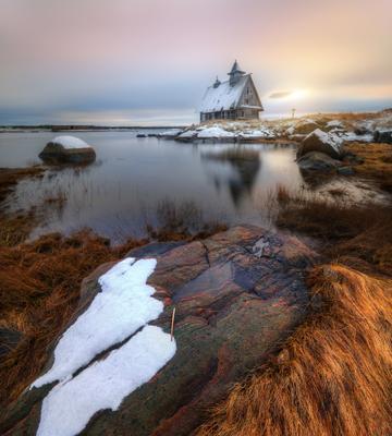 поздняя осень на Белом море...