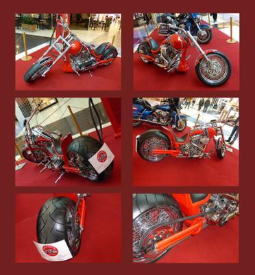 Красный конь (не по Петрову-Водкину) Выставка Мотоцикл Custom техно