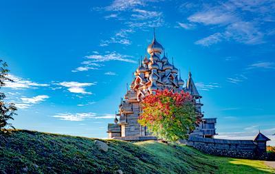 Осень в Кижах природа храмы история