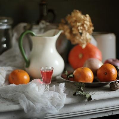 Согреть душу, развеселить сердце :) фрукты наливка кувшин посуда