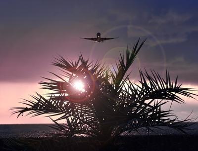 Глиссада...Вечер...Адлер... Авиация самолет аэропорт споттинг Сочи Адлер Взлет Посадка