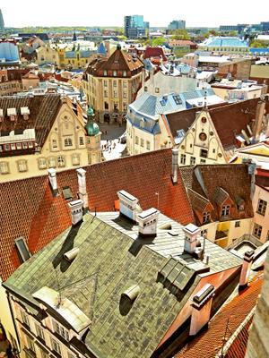 Таллин, Старый город.