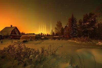−38 °C мороз зима Кольский полуостров