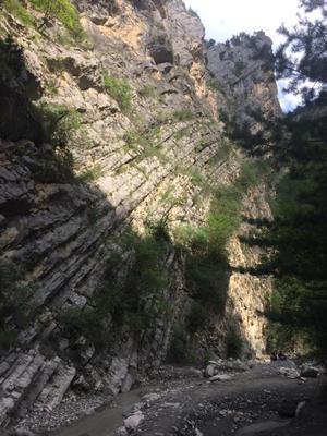 Неприступная Скала Горы Карадахская теснина природа Путешествия