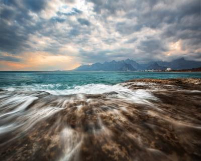 Анталия Анталия Турция Море закат