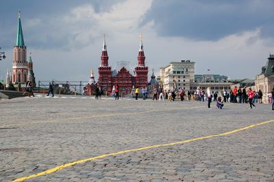 Red square* Red square