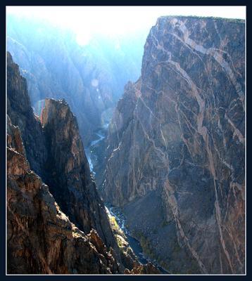 Черный каньон... Колорадо 2009 Каньон, река, ущелье